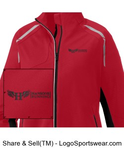 Women's Softshell Jacket Design Zoom
